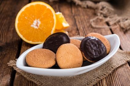 Jaffa Cakes Proteicas (Chocolate Y Naranja)