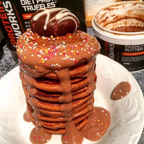 Tortitas de chocolate y trufa The Protein Works™