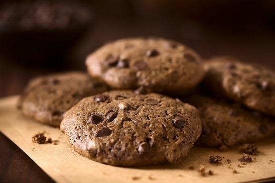 Cookies paleo con mantequilla de chocolate y anacardos